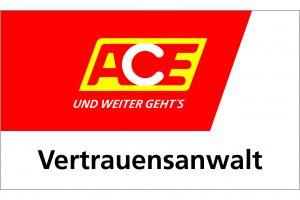 Rechtsanwalt Matthias Siegert-Paar ist Vertrauensanwalt und Kreisvorsitzender des ACE Auto Club Europa e.V.
